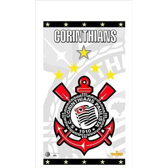 Sacola Plástica Corinthians - 08 Un