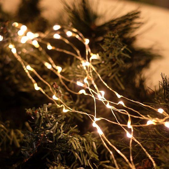 Iluminação de Natal - Rattan 160 Leds Bivolt Clara