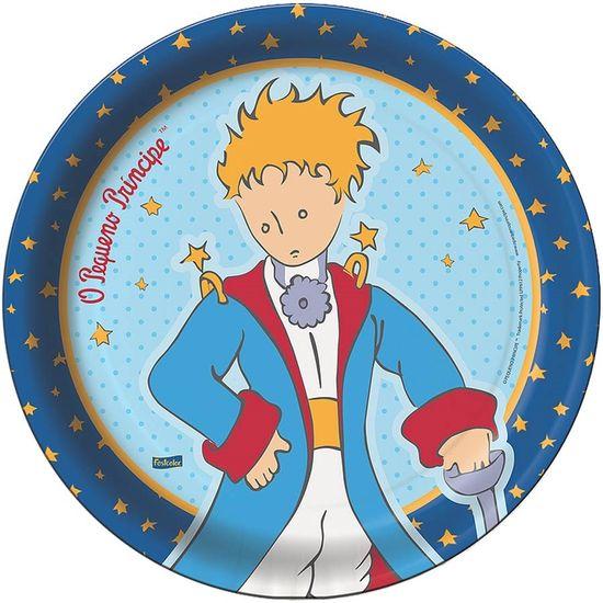 Prato Descartável O Pequeno Príncipe Clássico - 08 Un
