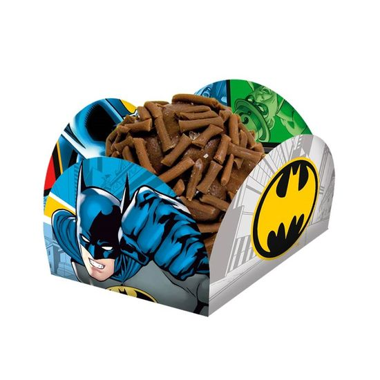 Porta-forminha Batman Clássico - 40 Un