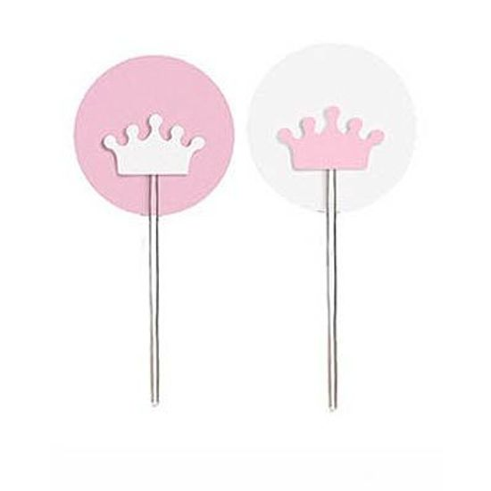 Reino Menina - Pick para Cupcake 12 Un
