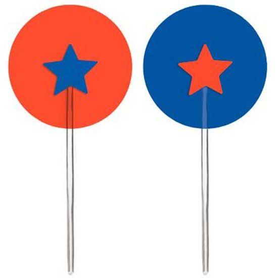 Circo - Pick para Cupcake 12 Un
