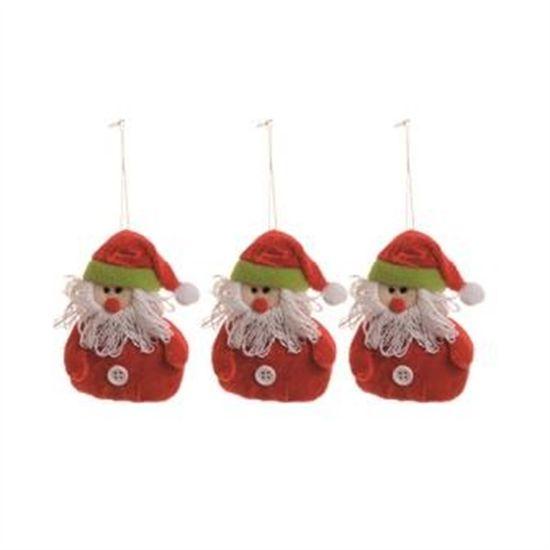 Noel com Roupa Vermelho (Petit) - 3 Peças