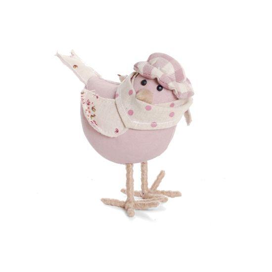Sufle Pássaro Roxo Pequena - 4 Un
