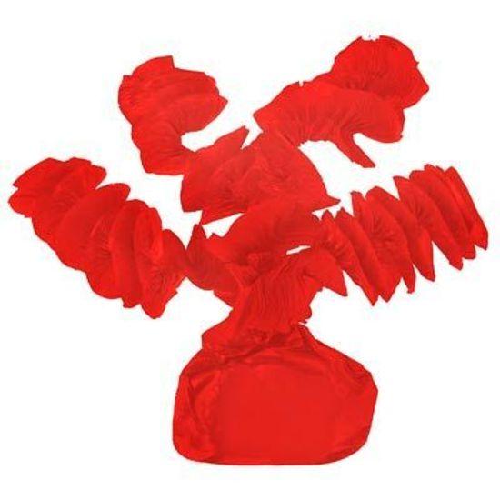 Papel para Balas Rococó Vermelho - 40 Un