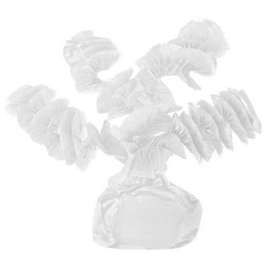 Papel para Balas Rococó Branco - 40 Un