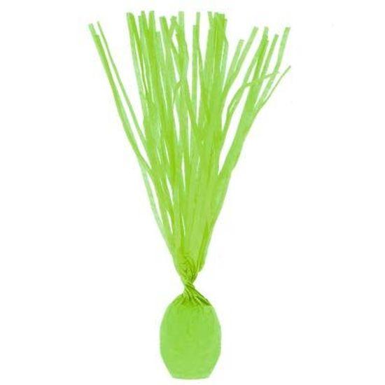 Papel para Bala Franjado Verde Limão - 48 unidades
