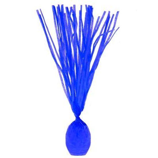 Papel para Bala Franjado Azul Escuro - 48 Un
