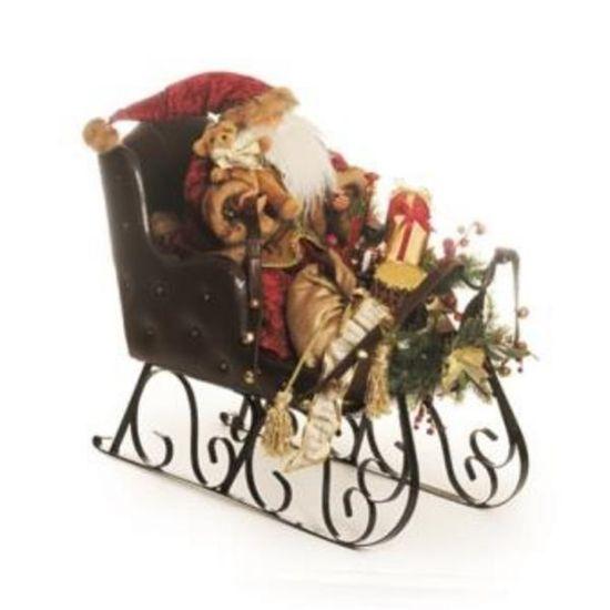 Noel no Guizo Perna Comprida Vermelho e Branca