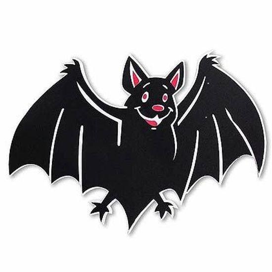 Painel Médio em E.V.A. Morcego Halloween - 39cm