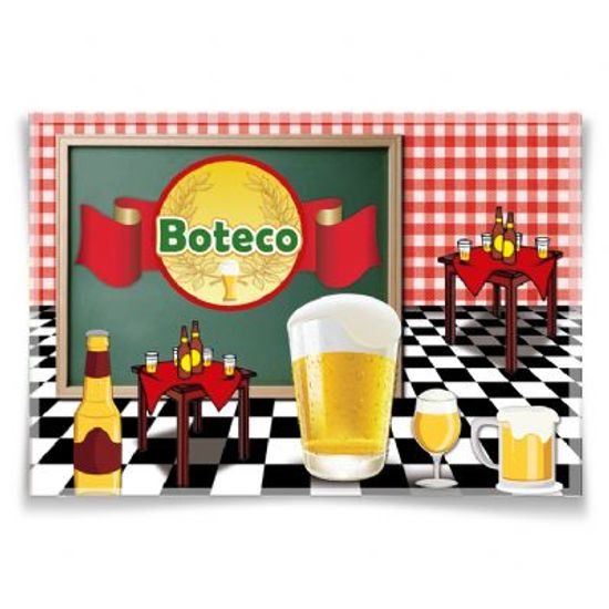 Painel Horizontal Festa Boteco - 106x75cm