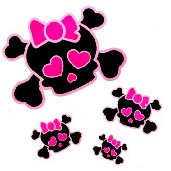 Festa Monster High - Folha com Adesivos Caveira Monster Teen - Brilha na Luz Negra FL - Folha com Adesivos Caveira Monster Teen - Brilha na Luz Negra