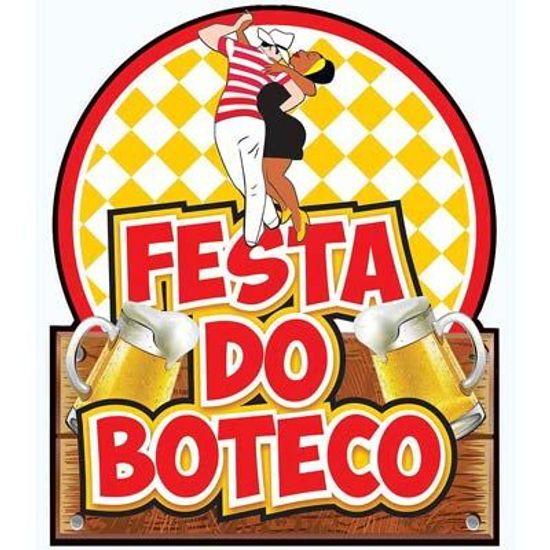 Painel Cartonado Festa do Boteco
