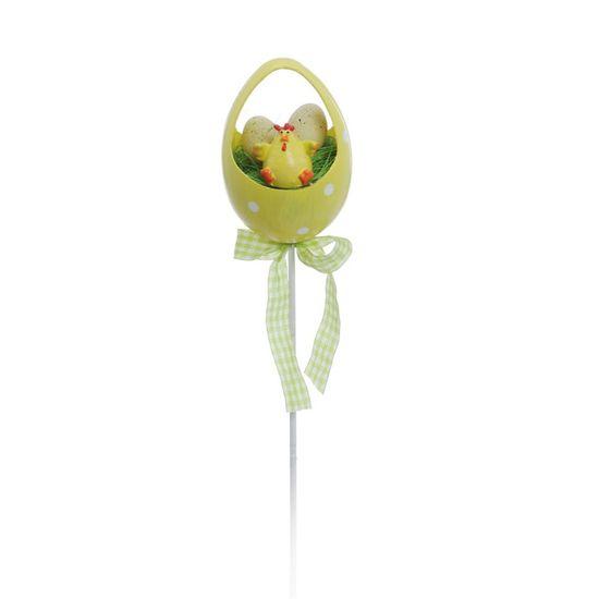 Cromus - Pick Ovo Galinha Amarelo ( Complementos ) - 12 Unidades