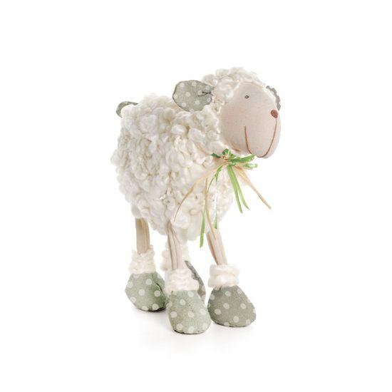 Muffin Ovelha Lã com Laço Verde Gold