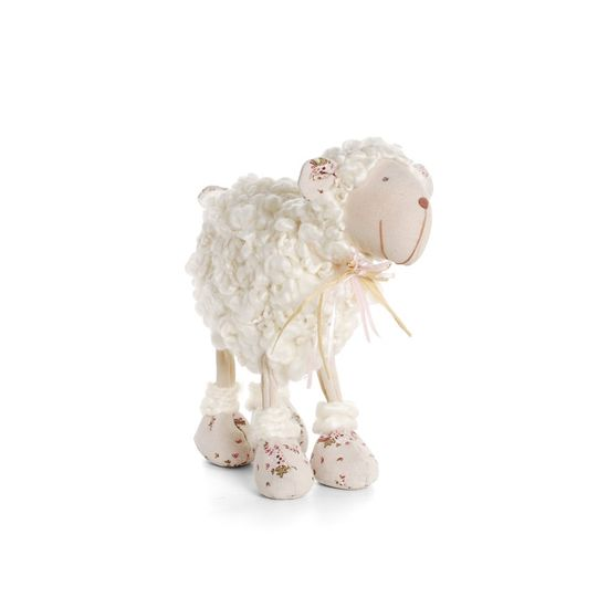 Cromus - Ovelha Lã com Lado Tamanho Pequeno ( Marzipan ) - 2 Unidades