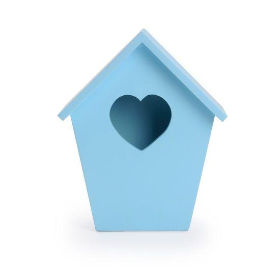 Cromus - Casinha Pássaro Azul Claro ( Complementos ) - 4 Unidades