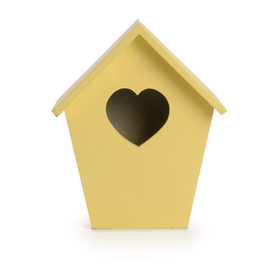 Cromus - Casa Pássaro Amarelo ( Complementos ) - 4 Unidades