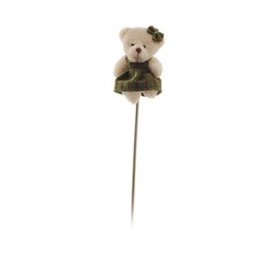 Pick Ursa com Vestido Listrado (Patchwork Color)  - 6 Unidades