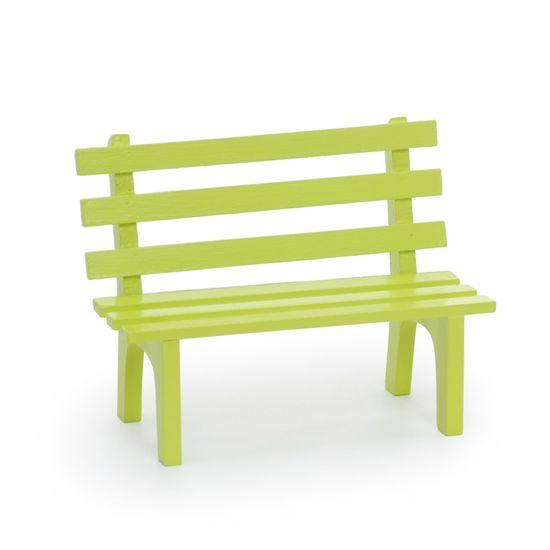 Cromus - Mini Banquinho Verde Claro ( Complementos ) - 4 Unidades