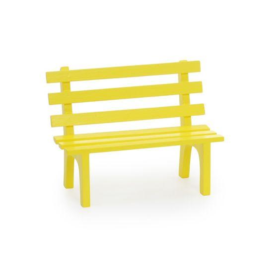 Cromus - Mini Banquinho Amarelo ( Complementos ) - 4 Unidades