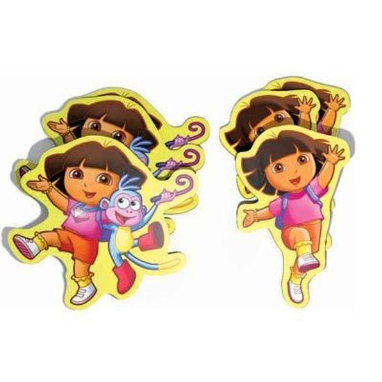 Festa Dora, a Aventureira - Micro Painel em E.V.A Dora a Aventureira - 06 unidades FL - Micro Painel em E.V.A Dora a Aventureira - 06 unidades