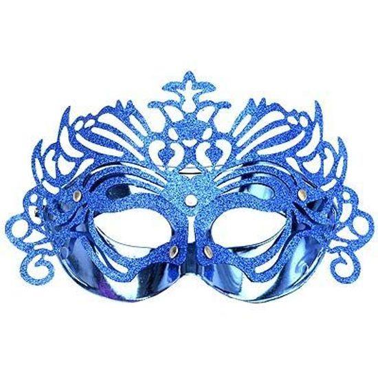 Máscara Veneziana Raggi - Cores Variadas