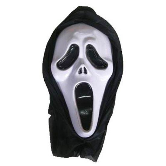 Máscara Pânico com Capuz para Festa Halloween