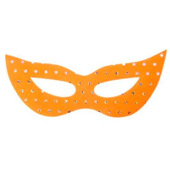 Máscara Gatinha Paetê em Tecido - 10 unidades