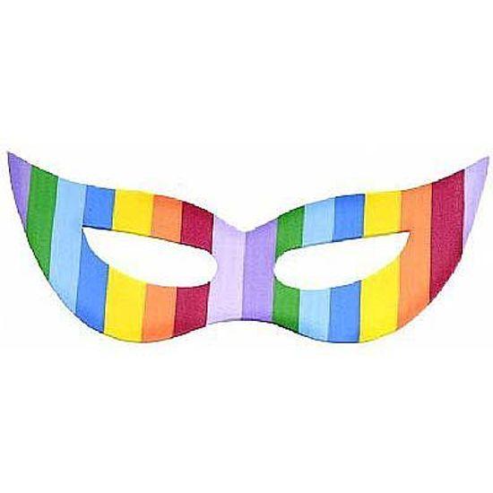 Máscara Gatinha Colors - 10 Un