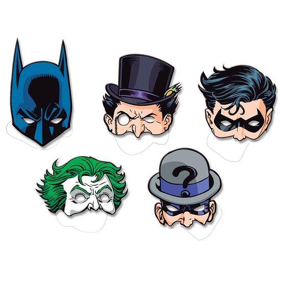 Máscara Batman Clássico - 08 Un