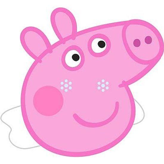 FL - Máscara em E.V.A Peppa Pig