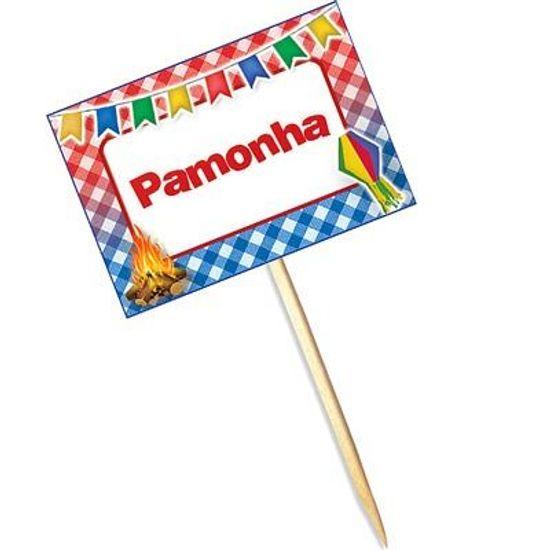 FL - Lolipop Especial Festa Junina para Pamonha - 10 unidades