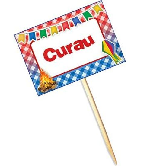 FL - Lolipop Especial Festa Junina para Curau - 10 unidades
