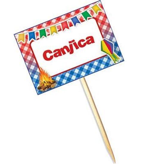 Lolipop Especial Festa Junina para Canjica - 10 unidades