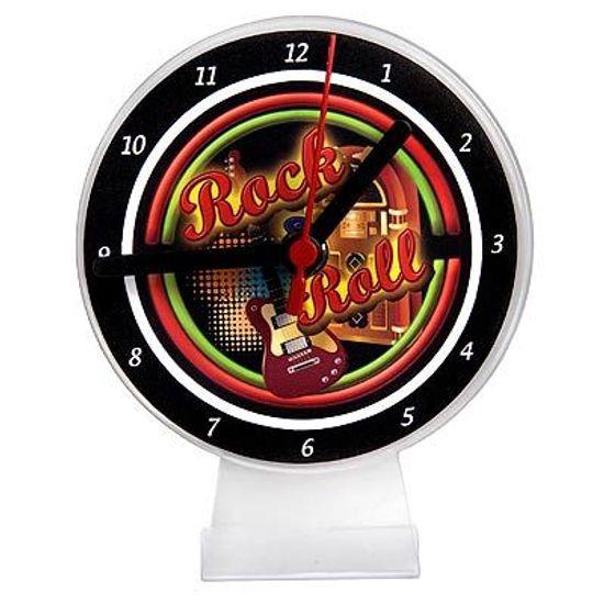Lembrancinha/ Enfeite de Mesa Relógio Rock and Roll