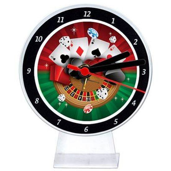 Lembrancinha/ Enfeite de Mesa Relógio Cassino