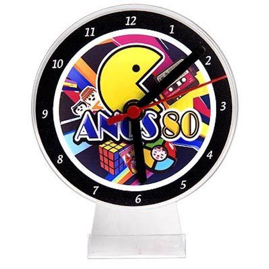 Lembrancinha/ Enfeite de Mesa Relógio Anos 80