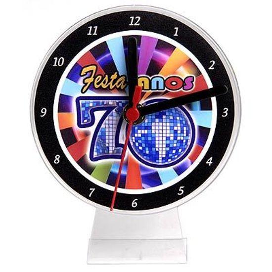 Lembrancinha/ Enfeite de Mesa Relógio Anos 70