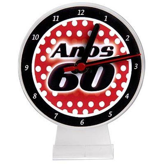 Lembrancinha/ Enfeite de Mesa Relógio Anos 60
