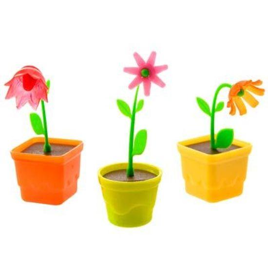 Lembrancinha Infantil - Vasinho com Flor 12 Un