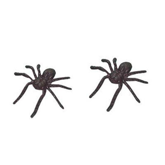 Mini Aranhas de Plástico - 20 unidades