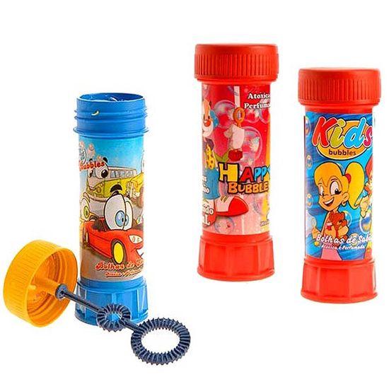 Lembrancinha Infantil - Bolinha de Sabão Color Bubbles