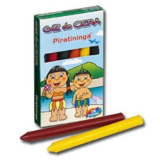Lembrancinha Infantil - Giz de Cera Caixa com 06 cores