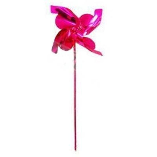 Lembrancinha Cata-Vento Metalizado ROSA PINK