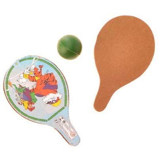 Lembrancinha - Mini Raquetes com Bolinha