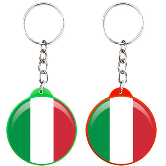 Chaveiro Plástico Especial Festa Italiana