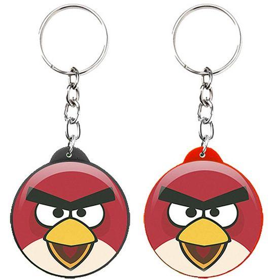 Festa Angry Birds - Chaveiro Plástico Especial Angry Birds Chaveiro Plástico Especial Angry Birds