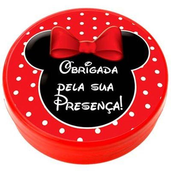 Festa Minnie Vermelha - Latinha Plástica 5x1 Lembrancinha Minnie Vermelha Latinha Plástica 5x1 Lembrancinha Minnie Vermelha