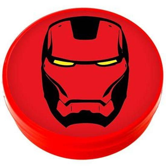 Latinha Plástica 5x1 Lembrancinha Homem de Ferro